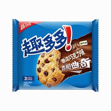 趣多多曲奇巧克力味家庭装 HN2(285g)(285g)