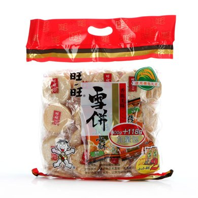 BX旺旺经济包雪饼(618g)
