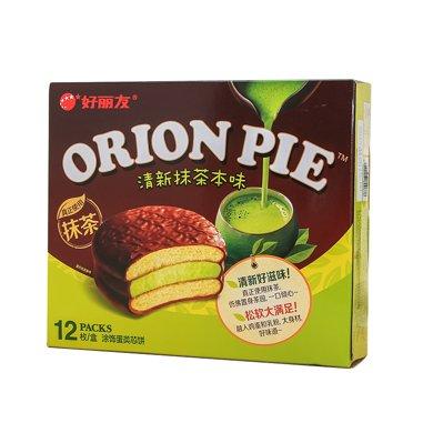 好麗友派清新抹茶本味巧克力派NC1JZ1(432g)