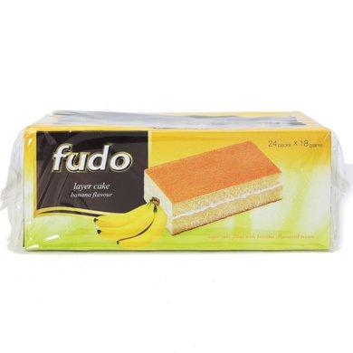 #福多牌香蕉味蛋糕(432g)