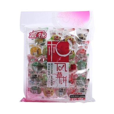 富錦實在香草餅 (500g)