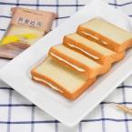 问候自然 荞麦吐司面包夹心切片西式糕点零食早餐食品20包960g整箱