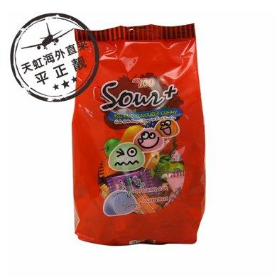 一百份什果酸味軟糖(600g)