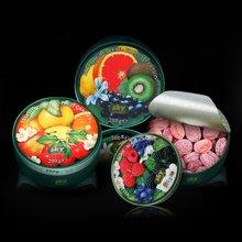 德国原装进口绿嘉云组合(浆果味糖+热带水果味糖+精选水果味糖)200G*3口味
