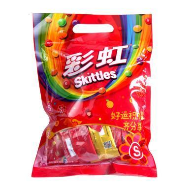 彩虹糖原果味缤纷充气糖果(380g)