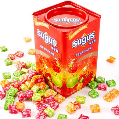 $瑞士糖混合水果味550g罐(550g)