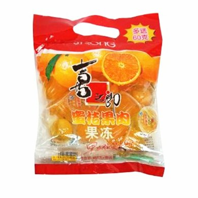喜之郎蜜桔果肉果凍(450g)