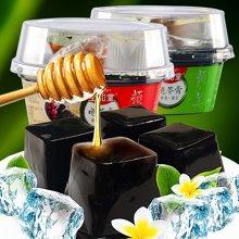 正宗生和堂龟苓膏果冻布丁222g*6杯 休闲零食特产奶香红豆绿豆味