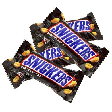 士力架巧克力花生?#34892;纳?#35013;单个20g 横扫饥饿年货礼物零食喜糖