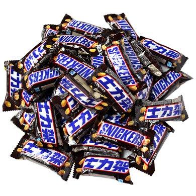 士力架花生夾心巧克力散裝800g 花生夾心橫掃饑餓喜糖休閑零食