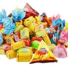 徐福記奇歐比巧克力500g混合糖果年貨大禮包結婚喜糖零食散裝批發