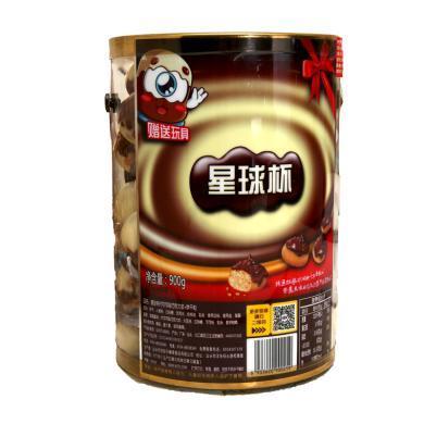 星球杯代可可脂巧克力漿+餅干粒(900g)