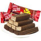 雀巢脆脆鲨巧克力夹心威化饼干500g散装喜糖果零食小包装整箱批发