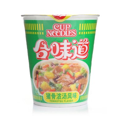 合味道猪骨浓汤杯面方便面G(86g)