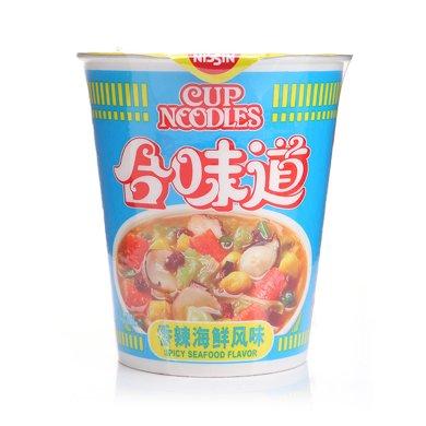 日清合味道方便面香辣海鲜(78g)