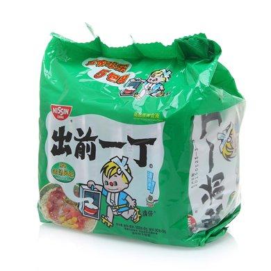 出前一丁豬骨濃湯風味(五連包)((103g*5))