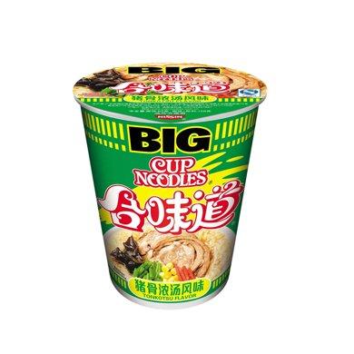P日清合味道BIG杯豬骨濃湯風味(110g)