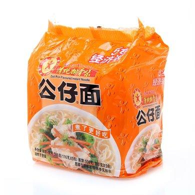 公仔包面-清燉排骨味5包裝(580g)