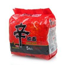 农心辛拉面(香菇牛肉)((120g*5))