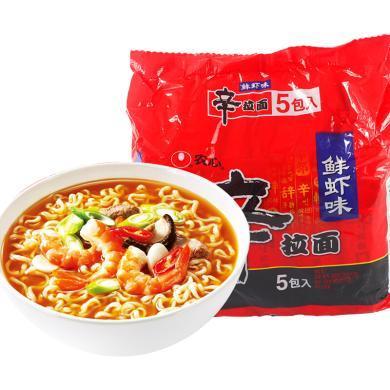 農心辛拉鮮蝦五包入(120g*5)