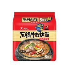 农心石锅牛肉拉面5连包(120g*5)