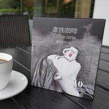 塞纳河畔 拿铁咖啡latte 10条盒装 三合一咖啡粉 速溶白咖啡