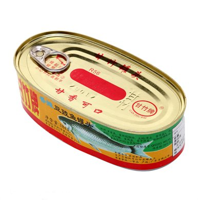 Z甘竹牌香辣豆豉魚罐頭(184g)(184g)(184g)