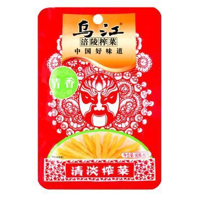¥烏江清香清淡榨菜(80g)