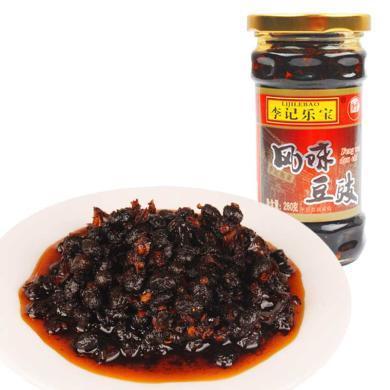 李記樂寶 風味豆豉 280克x3瓶