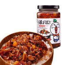 吉香居暴下飯甜辣醬牛肉醬拌飯醬香菇拌面醬下飯醬菜250g*1瓶
