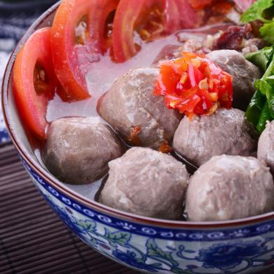 潮汕汕头手打牛肉丸特色丸子风味火锅配菜250克