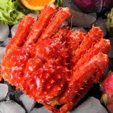 【海掏大口鮮 順豐冷鏈包郵】智利熟凍帝王蟹1.4-1.6Kg 大螃蟹 新鮮美味營養全面 口感新鮮 肥重肉多 海鮮水產