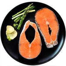 【海掏大口鮮 順豐冷鏈包郵】冷凍 智利三文魚筒切 大西洋鮭 300g 袋裝 魚肉粉嫩細膩入口爽滑