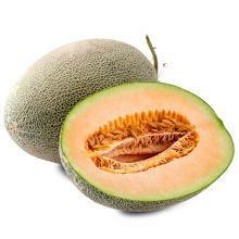 食王记 西州蜜瓜哈密瓜新鲜水果 1个装约4-5斤 水果