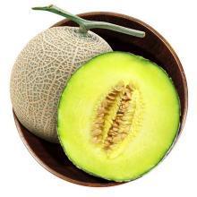 食王记  山东海阳口口蜜网纹蜜瓜 香甜软糯 4.5-5斤 2个装 堪称瓜中兰博基尼 新鲜水果