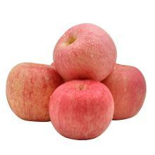 华朴上品 山东烟台苹果 红富士85mm以上 12粒精品大果 约8斤礼盒装