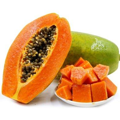 华朴上品 云南红心木瓜 7.5-8斤装5-8个 新鲜水果