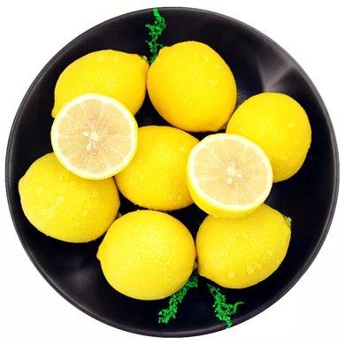華樸上品 四川安岳 黃檸檬中果2斤7-10個 清香酸爽