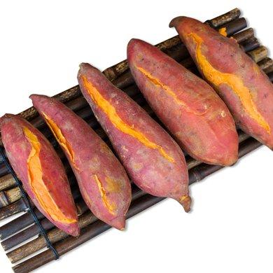 赣南红蜜薯 三百山 沙地红蜜薯 红薯 地瓜 番薯 蜜薯 5斤 新鲜蔬菜