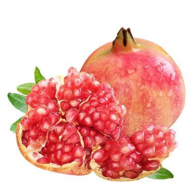 华朴上品 石榴河阴突尼斯软籽石榴 5斤9粒 新鲜水果石榴