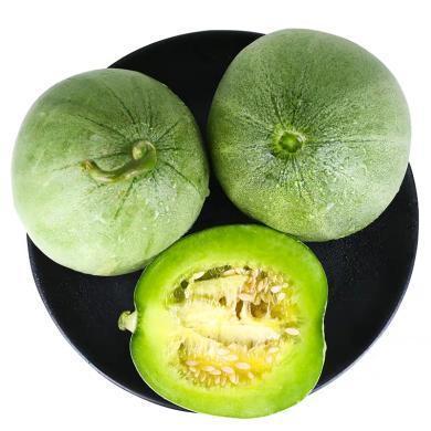 华朴上品 山东绿宝石小甜瓜4.5-5斤9-12个 脆甜爽口应季新鲜水果产地直发