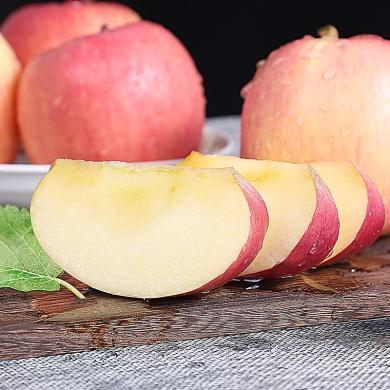 华朴上品 陕西咸阳红富士苹果5斤9个装  新鲜水果苹果