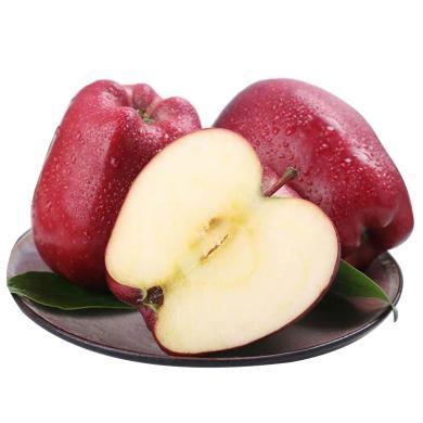 【顺丰包邮】华朴上品 甘肃花牛苹果蛇果带箱9.5-10斤果径80-85mm新鲜水果蛇果