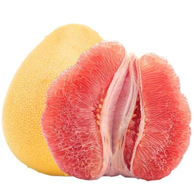 华朴上品 福建红心蜜柚8.8斤-9.2斤 4-5个装 新鲜水果柚子红柚