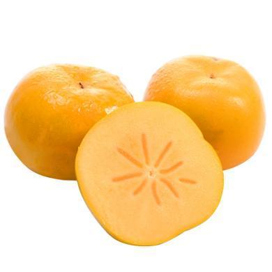 華樸上品 陜西脆柿子5斤裝 新鮮水果柿子