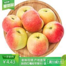 2019新上市蘋果 紅嘎啦蘋果9斤裝脆甜新鮮水果 陜西紅富士
