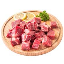 崇鲜原切进口牛腩粒300g/包*3包新鲜牛腩肉包邮