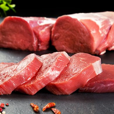 崇鮮原切牛肉進口牛排套餐1200g/6片裝 西冷2份肉眼2份上腦2份
