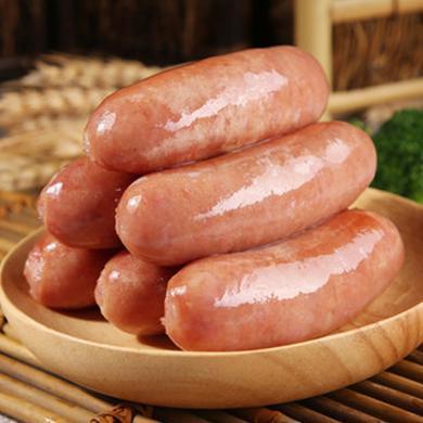 林肯兴源 台湾原味黑椒地道有料肠 热狗 烧烤肠 2包