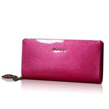 勞斯帥特2015年夏季新款女士錢包 時尚漆皮拉鏈手拿包H6421-A80